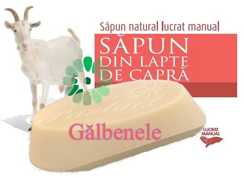 sapun lapte capra GALBENELE