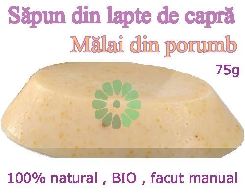 Sapun din Lapte de Capra - MALAI din PORUMB