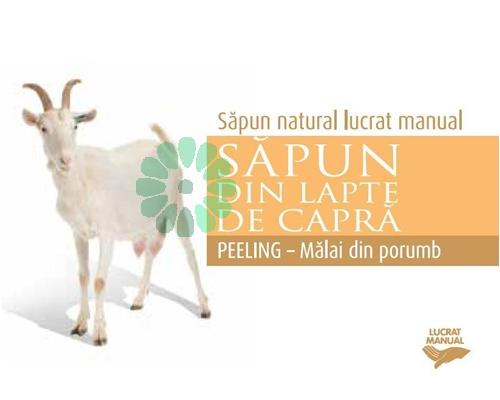 Sapun MALAI din PORUMB cu lapte de capra