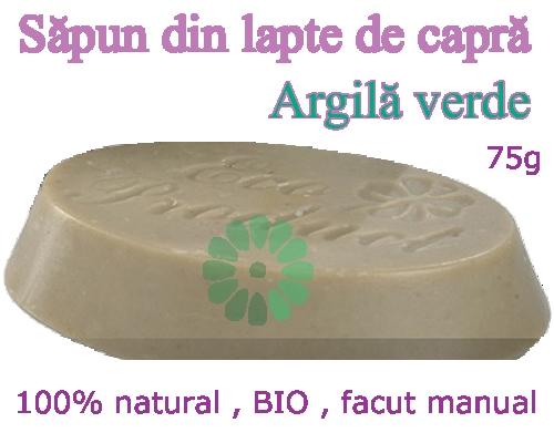 Sapun din Lapte de Capra - ARGILA VERDE