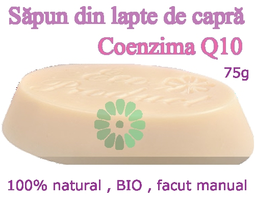 Sapun din Lapte de Capra - COENZIMA Q10