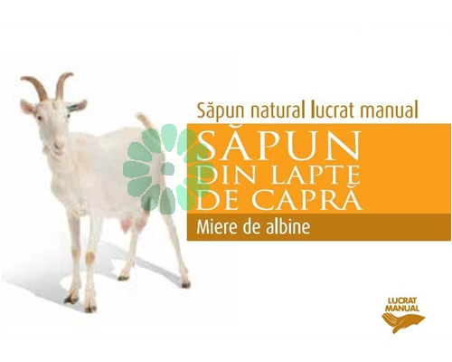 Sapun MIERE de ALBINE cu lapte de capra
